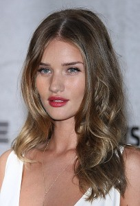 Heathrow Airport waves off Rosie Huntington-Whiteley